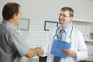Doctor Meeting Patient - Image Credit: Vic
