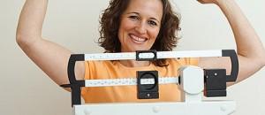Woman on Weighing Scales - Image Credit: Loren Borud