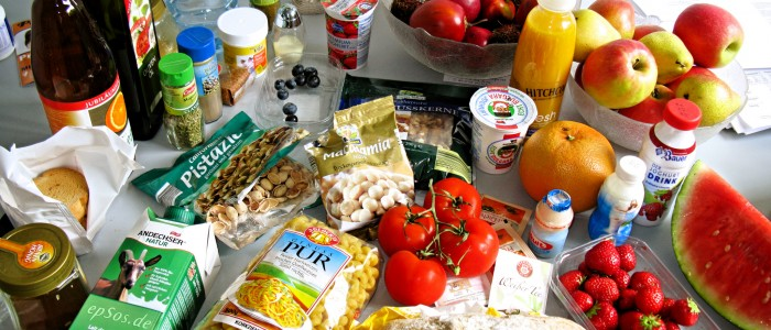 Array of Healthy Foods - Image Credit: epSos .de