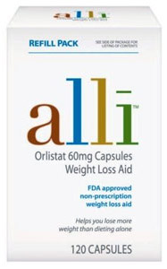 Alli-non-prescription-weight-loss-pills